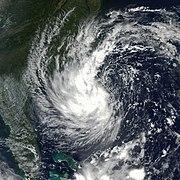 Subtropical Storm Gustav in 2002