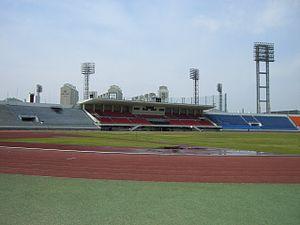Gwangju Mudeung Stadium - Image: Gwangju Mudeung Stadium