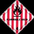 HAZMAT Class 4-1 Flammable Solid.png