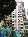 HK Central 些利街 Shelley Street 回教清真禮拜總堂 Jamia Mosque view low-rises building Mar-2016 DSC 001.JPG