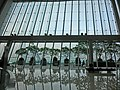 HK Central IFC mall glass window wall view Terrace May 2013.JPG