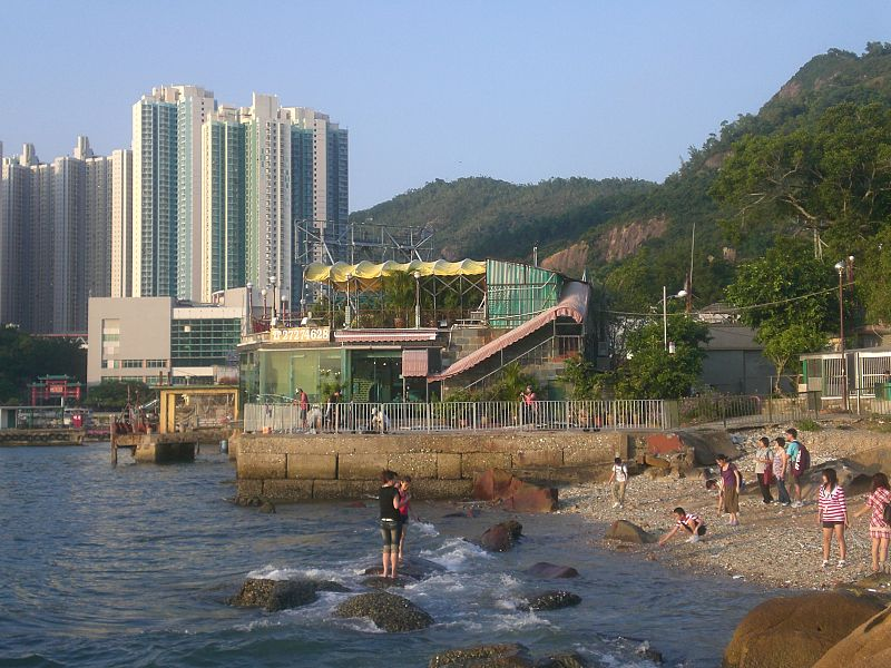 File:HK Lei Yue Mun Estate n Seafood Restaurant Coast.JPG