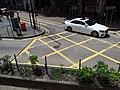 HK tram view CWB 銅鑼灣 Causeway Bay 軒尼詩道 Hennessy Road yellow lines September 2019 SSG 11.jpg