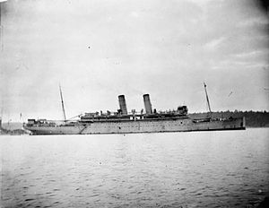 HMS Otranto during WWI