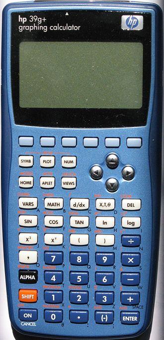 HP 39/40 series - Image: HP39g+