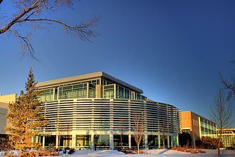 Northern Alberta Institute of Technology - The Hewlett-Packard Centre on NAIT's Edmonton campus.