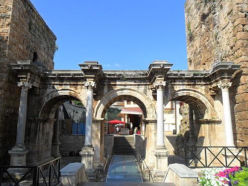 Hadrian's gate ummahtrip halal holidays antalya