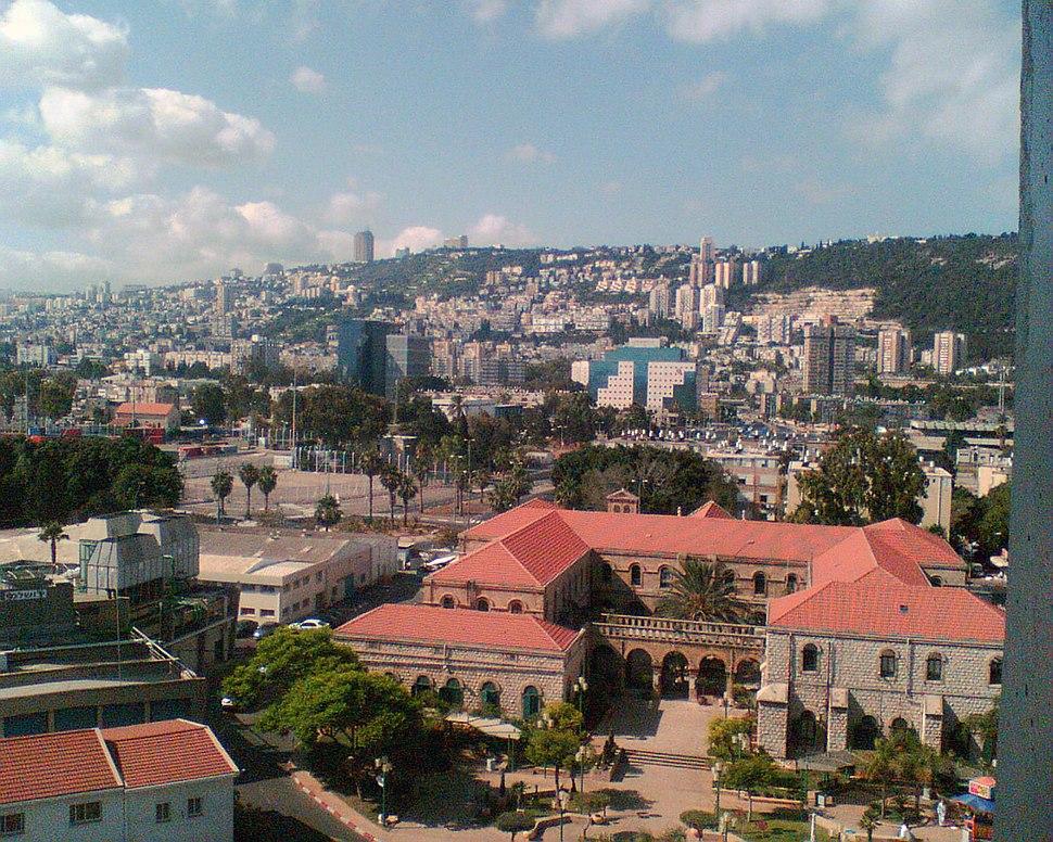 Haifa, viewed from Rambam Medical Center