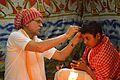 Hair Cutting by Acharya - Upanayana Ceremony - Simurali 2015-01-30 5614.JPG