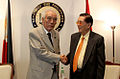 Hajime Ishii and Juan Ponce Enrile 20110504.jpg