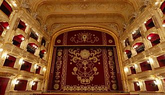 Odessa Opera and Ballet Theater - The theatre' main stage.