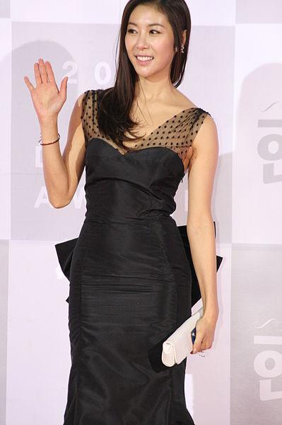 filehan eunjeong at the kbs drama acting awards 2010jpg
