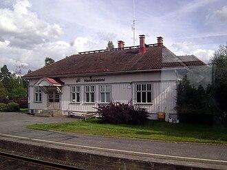 Hankasalmi - Hankasalmi railway station