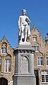 Hans Memling Hendrik Pickery Woensdagmarkt Brugge.JPG