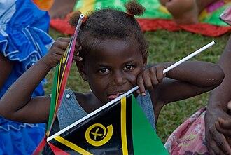 History of Vanuatu - Vanuatu independence day, 2010