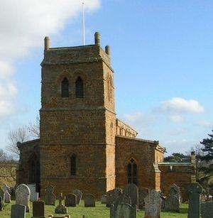 Harlestone - Image: Harlestone Church geograph.org.uk 130354 cropped