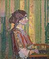 Harold Gilman - Stanislawa de Karlowska (Mrs. Robert Bevan) - Google Art Project.jpg