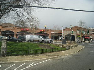 Harstdale, an unincorporated hamlet in the Town of Greenburgh