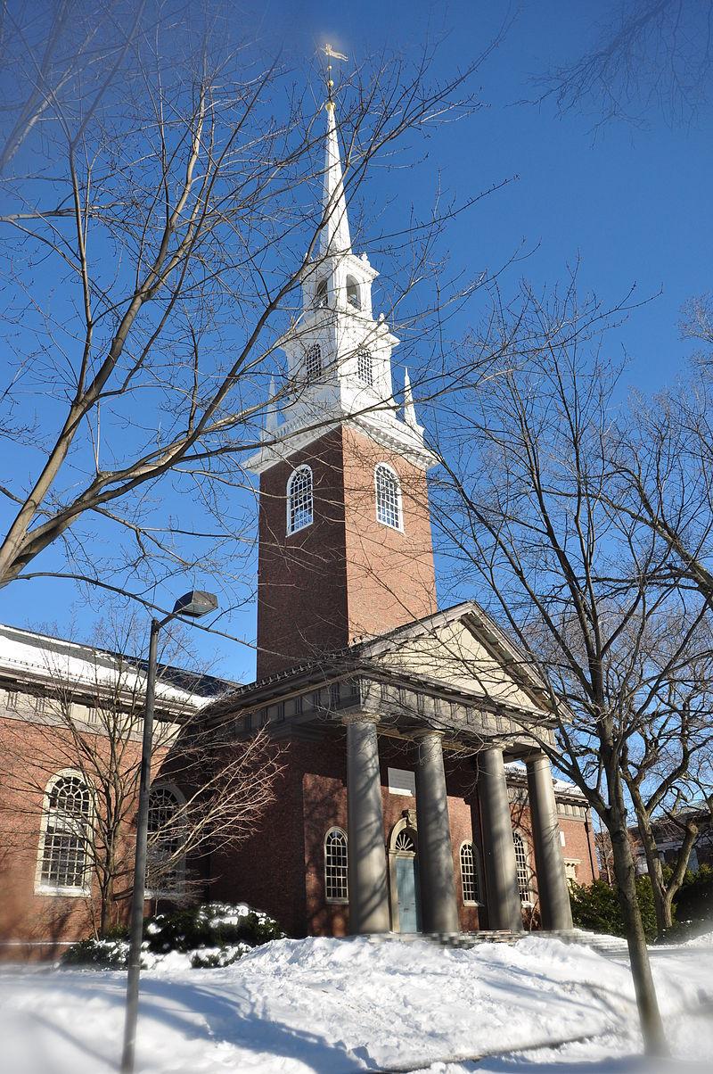 Harvard memorial church winter 2009.JPG