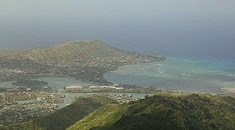 Hawaii Kai, Hawaii - Image: Hawaii Kai Hanauma Crater