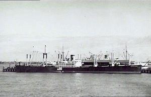 USS Briareus (AR-12) - Hawaiian Planter in Port Melbourne, Victoria, 1941.