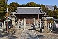 Hazu-jinja (Nishio), haiden.jpg