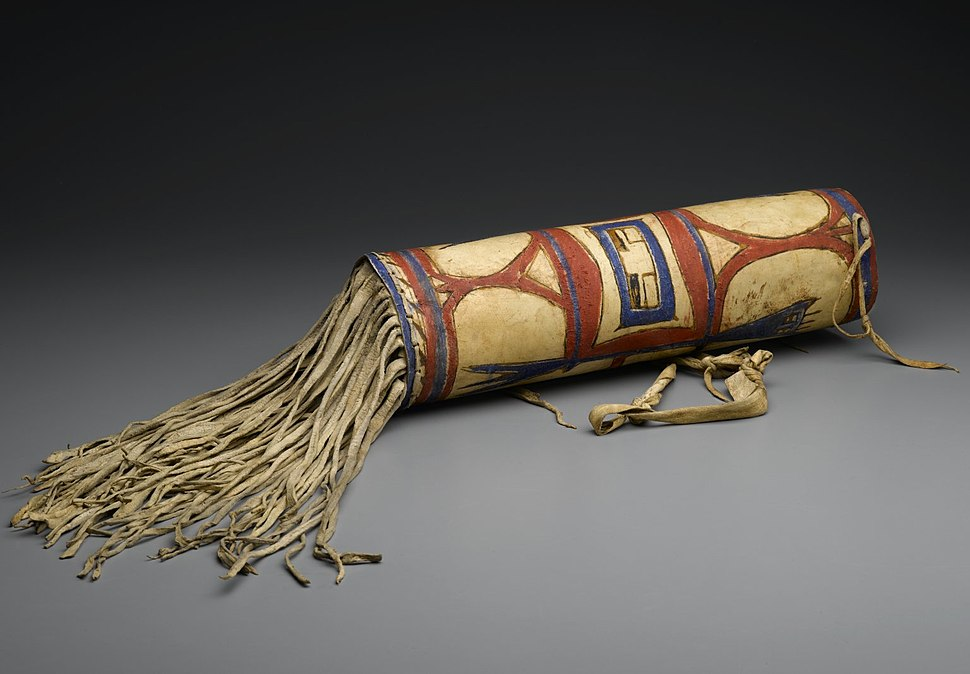 Headdress Case,Blackfoot (Native American), late 19th century, 50.67.30