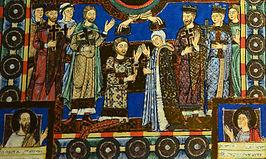 Hendrik de Leeuw en Mathilde van Engeland