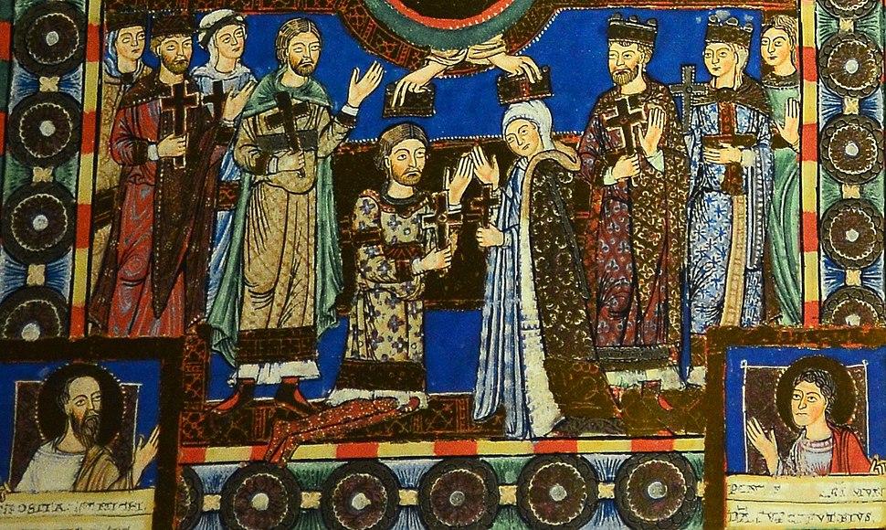 Heinrich der Löwe und Mathilde von England