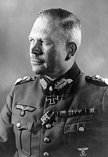 Heinz Guderian WW2 German general favoring blizkrieg