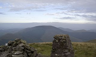 Tarrenhendre 634m high mountain in Wales