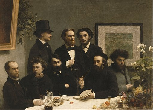 Henri Fantin-Latour - By the Table - Google Art Project