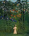 Henri Rousseau Femme se promenant.jpg