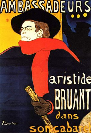 1892 in art - Poster by Toulouse-Lautrec