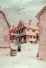 Det Christiania som forsvinner / Fra MEllemgaten i Piperviken / Det såkaldte \