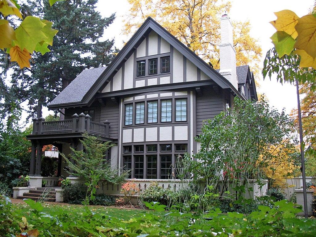 File henry b miller house portland or jpg wikimedia for Portland home