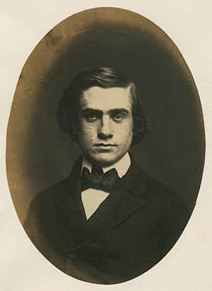 Henry Billings Brown - Henry Billings Brown at age 19 or 20, Yale College Graduation Picture, 1856