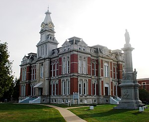 Henry County, Illinois - Image: Henry County Courthouse (Cambridge, Illinois)