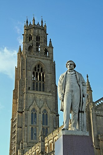Herbert Ingram - Statue of Ingram in Boston