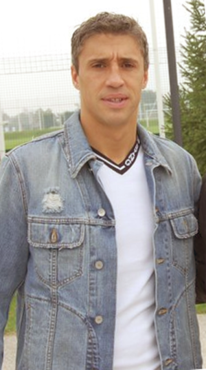 Hernán Crespo - Crespo with Parma in November 2011