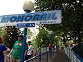 Hersheypark Monorail station, Hersheypark, 2013-08-10.jpg
