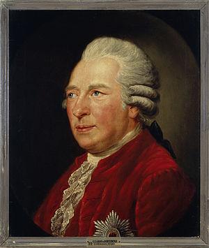 Ewald Friedrich von Hertzberg - Portrait of Hertzberg (1789) by Ferdinand Collmann.