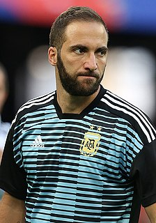 Gonzalo Higuaín Argentine footballer