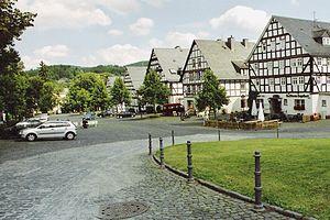 Hilchenbach - View of Hilchenbach