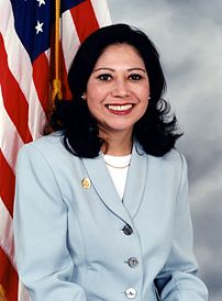 {{w|Hilda Solis}}, U.S. Congresswoman (D-Calif...