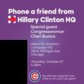Hillary phone bank October 27 with Congresswoman Cheri Bustos.png