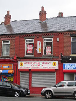 Hillsborough Justice Campaign office, Liverpool
