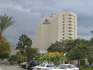 2004 Sinai bombings - Newly rebuilt, Hilton Taba.