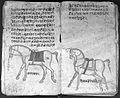 Hindi Manuscript 191, fols. 32 verso 33 rect Wellcome L0024225.jpg