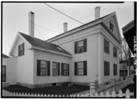 Historic American Buildings Survey Cervin Robinson, Photographer October 1960 NORTH AND WEST ELEVATIONS - William A. Farnsworth Homestead, 21 Elm Street, Rockland, Knox County, ME HABS ME,7-ROCLA,1-4.tif